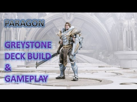Paragon greystone deck build gameplay youtube for Grey stone deck