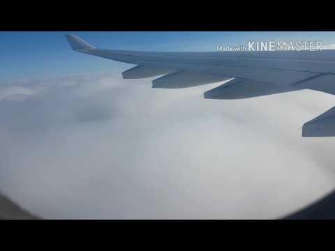 Kuwait To Mumbai Travel Beautiful Sky View