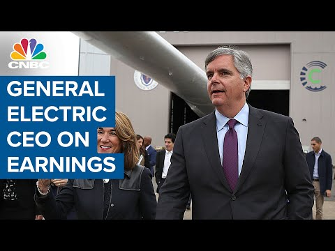 General Electric CEO Larry Culp on earnings, positive free cash flow