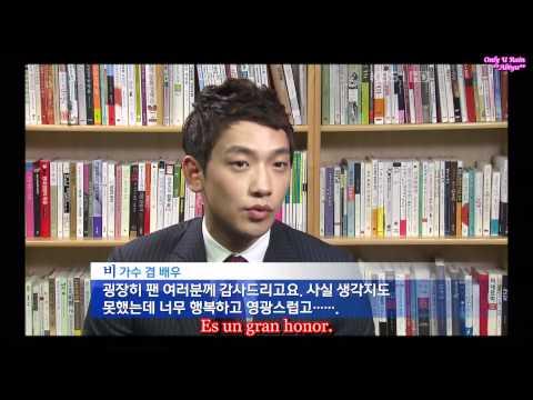 (Bi) Rain KBS Entrevista/Interview TIME  Magazine  (sub español)