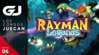 Rayman Legends , Los Gordos Juegan - Parte 6  | 3GB