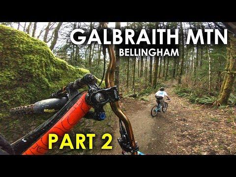 SO MANY JUMPS! Evolutiuon, Unemployment Line   Galbraith Mtn Bellingham - Part 2