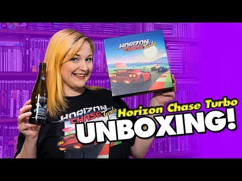 Horizon Chase Turbo Unboxing! | KinsZilla