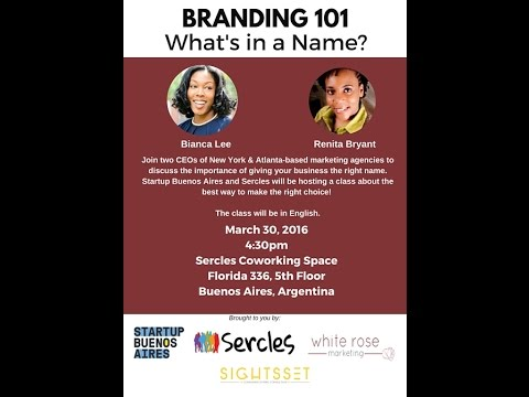 Branding 101: What's in a Name