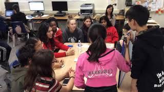 Students built international friendships through language