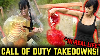REAL LIFE Call of Duty Takedowns! | Alex Zedra
