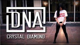 BTS DNA — full dance cover by crystal diamond