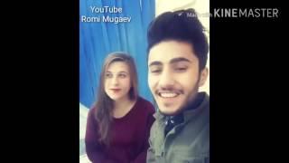 ❤☉💚парень и девушка поют курдские народные песни kurdish boy girl ❤☉💚