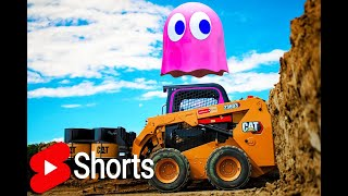 I Set The World Record for the LARGEST GAME of PAC-MAN! #shorts