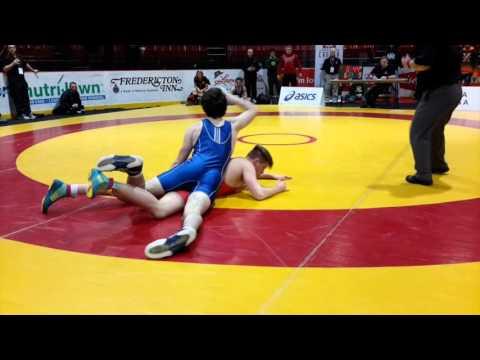 2016 Canadian Junior Championships: 74 kg John Fayad vs. Jesse Whalen