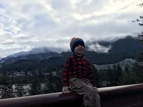Oregon to Washington(White Salmon, Hood River, Mount Adams, Portland, Multnomah Falls)