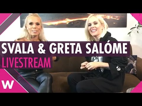 Svala and Greta Salóme (Iceland 2017 and 2016) Facebook Livestream (Previously Recorded)