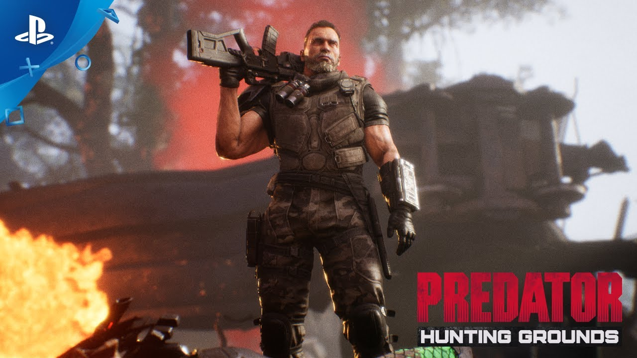 『Predator: Hunting Grounds』 「ダッチ2025」スキン&「QR5アサルトライフル」