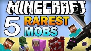 ✔ Top 5 Rarest Mobs in Minecraft (Part 2)