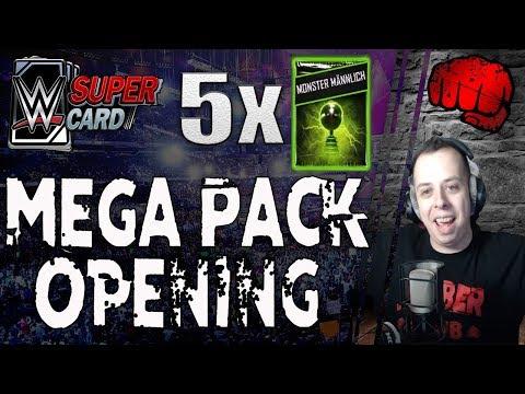 Mega Pack Opening - Die erste Titan Karte! | 175000 Credits | Saison 4 | Part 2 | WWE SuperCard