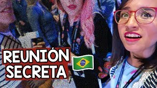 EL EVENTO SECRETO DE YOUTUBE en BRASIL ¡Graffitearon mi ropa! 😨 ♡ Craftingeek Vlog