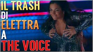 TUTTO IL TRASH DI ELETTRA LAMBORGHINI A THE VOICE | BLIND AUDITIONS #1 - TVOI 2019