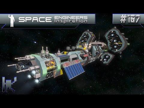 Space Engineers Inspiration - Episode 107: Beowulf 0-X-1, Estellar GE, & DS9 Danube Class USS Amazon