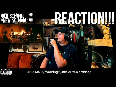 REACTION! BAND-MAID - Warning! (Official Video)
