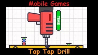 Tap Tap Drill - Drill In That Screw - Android and iOS Gameplay Game Review