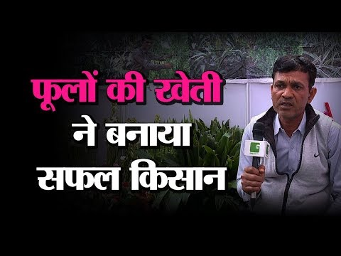 Yash Saini, MD- Yash Nursery In Pusa Krishi Vigyan Mela 2019 | फूलों की खेती करें किसान