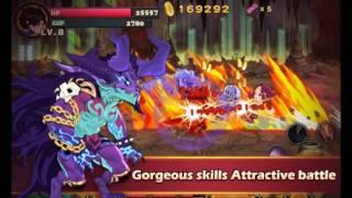 Brave Fighter:Demon Revenge Hack V2.1.2 Mod Apk