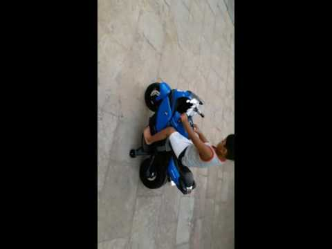 bmw k1300s battery operated motorcycle - youtube