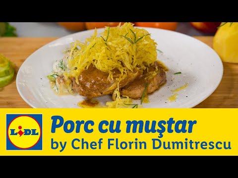 Porc cu mustar • Gateste cu Chef Florin Dumitrescu