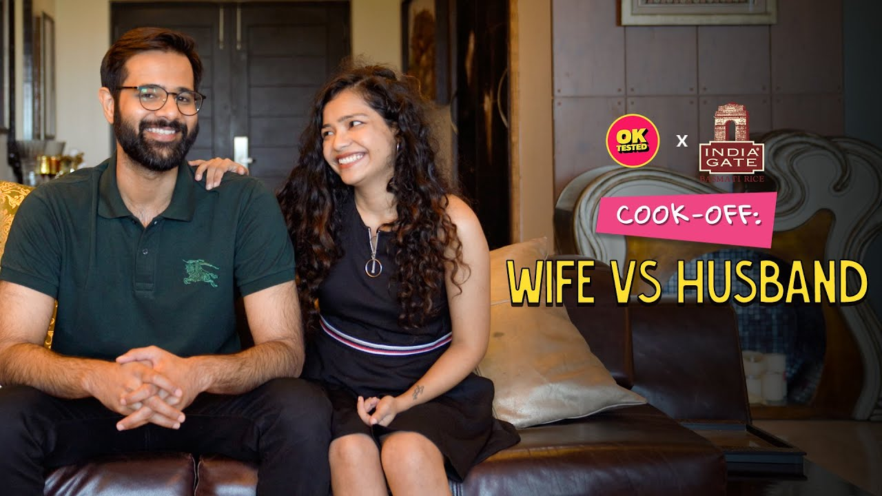 Husband VS Wife - Who Cooks Better? | Cook Off | OK Tested