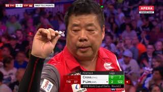 2018 World Cup of Darts Round 2 England vs Singapore