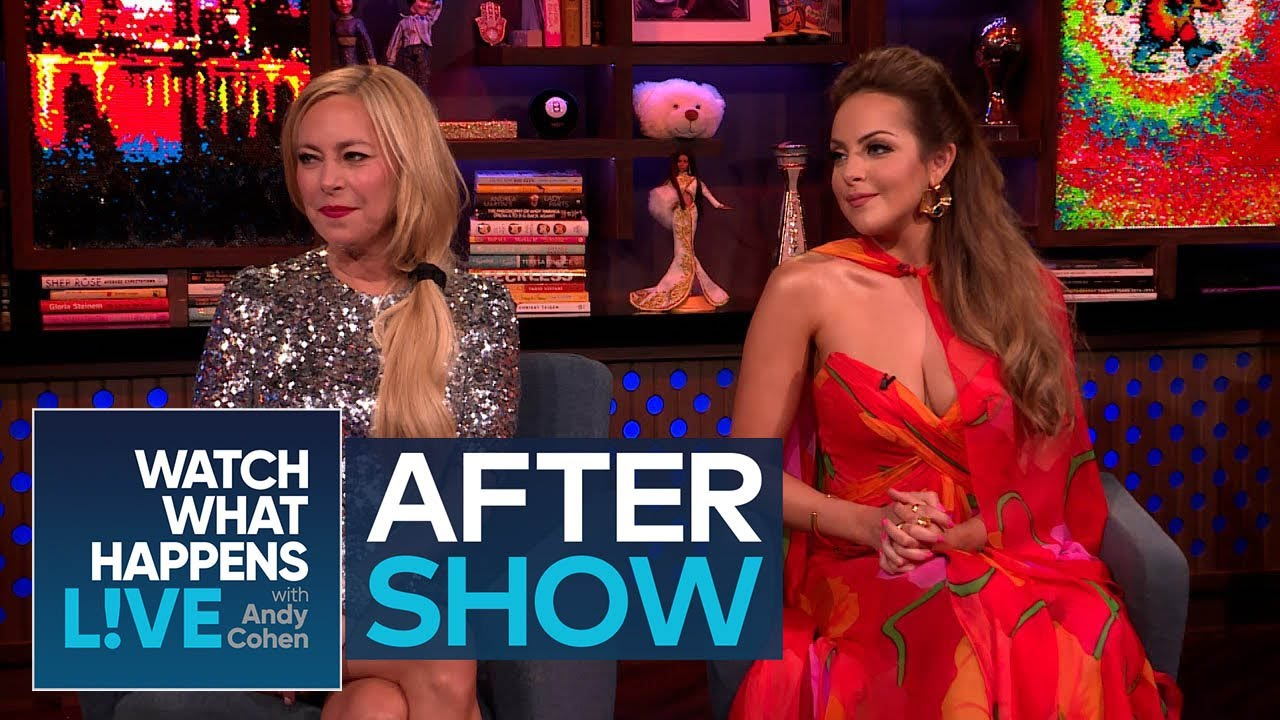 Liz Gillies on Playing Two Characters on 'Dynasty' | WWHL