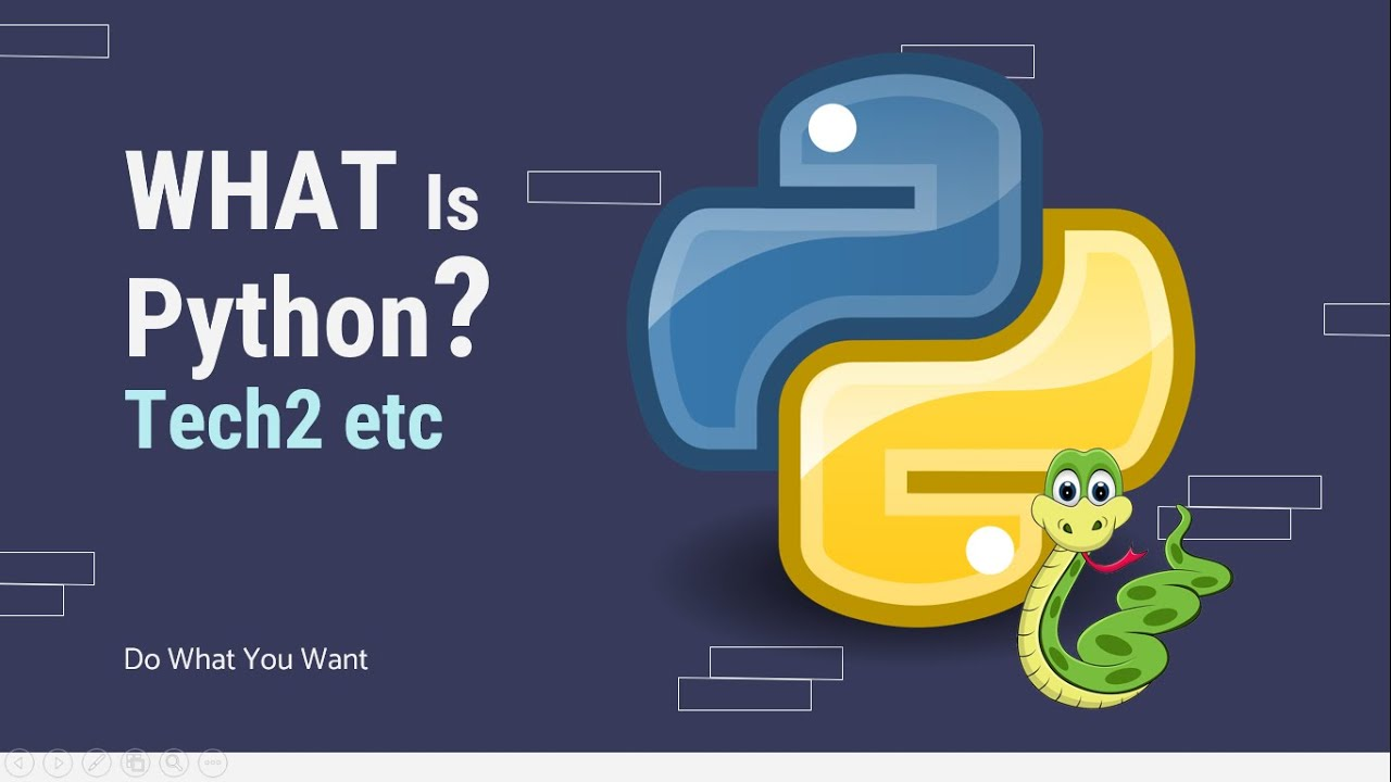 What Is Python Programming Language? and More