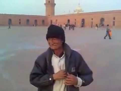 78 Years old Mr. Shami - Badshahi Mosque Tour Guide