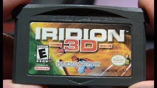 Classic Game Room - IRIDION 3D review for Game Boy Advance