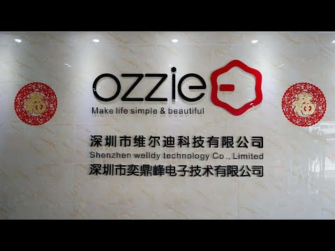 Ozzie Design - Company Overview - Video Verified By SGS Group - Shenzhen Welldy Technology Co., Ltd