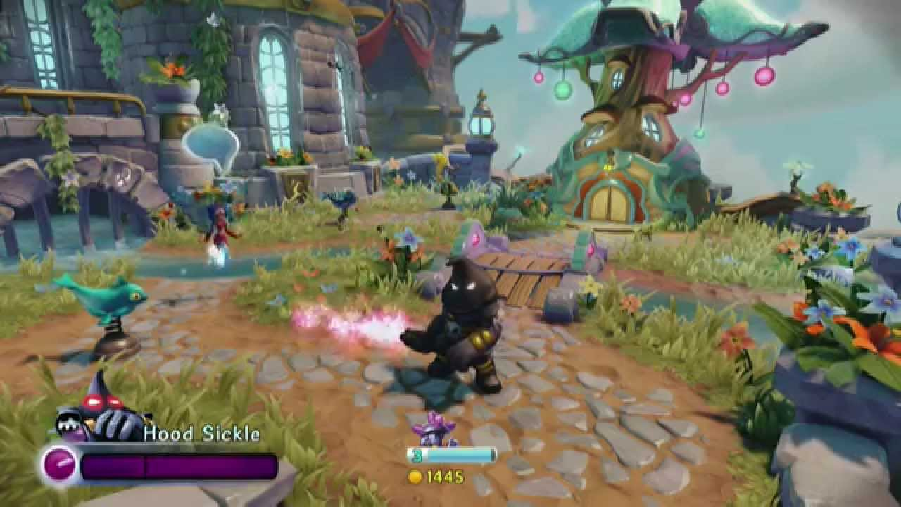 Skylanders Trap Team Villainography: Hood Sickle - YouTube