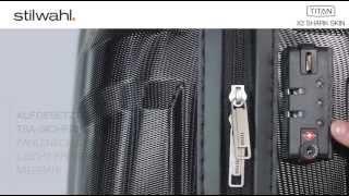 Titan X2 Flash - Der Kult - Koffer mit der Shark Skin Oberfläche.