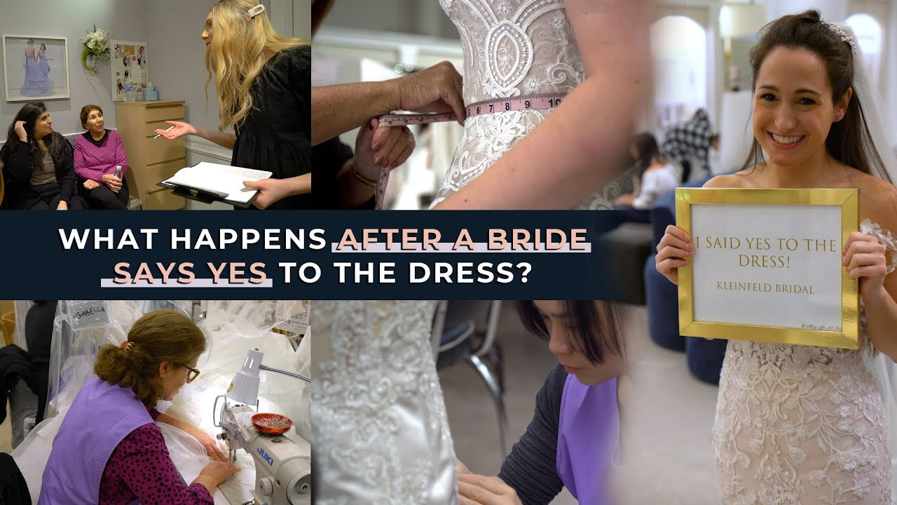 What Happens After A Bride Says Yes to the Dress?