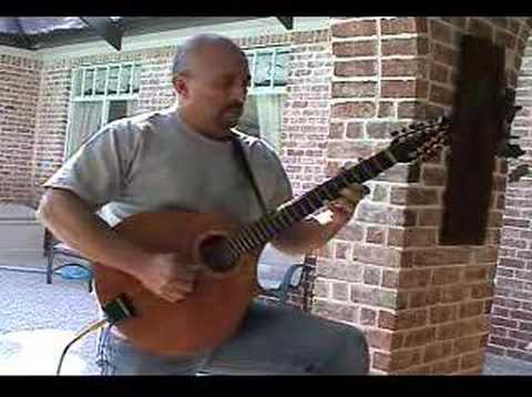 Celtic tune on Cittern