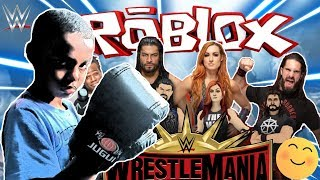 HOW TO GET FREE ITEMS FROM THE WWE ROBLOX WRESTLEMANIA EVENT