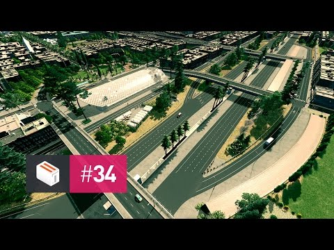 Let's Design Cities Skylines — EP 34 — Beautiful Freeways
