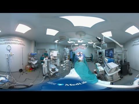 MEDLIFE. Prima Operație LIVE 360 VR din România