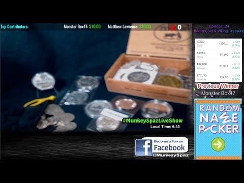 Gold Rises & Kids Find Viking Treasure! | Live Show: Ep. 24