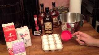 How To Make Home Made Eggnog For Christmas In The Alberta Urban Garden