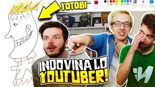 RIESCI AD INDOVINARE LO YOUTUBER? PAINT EDITION