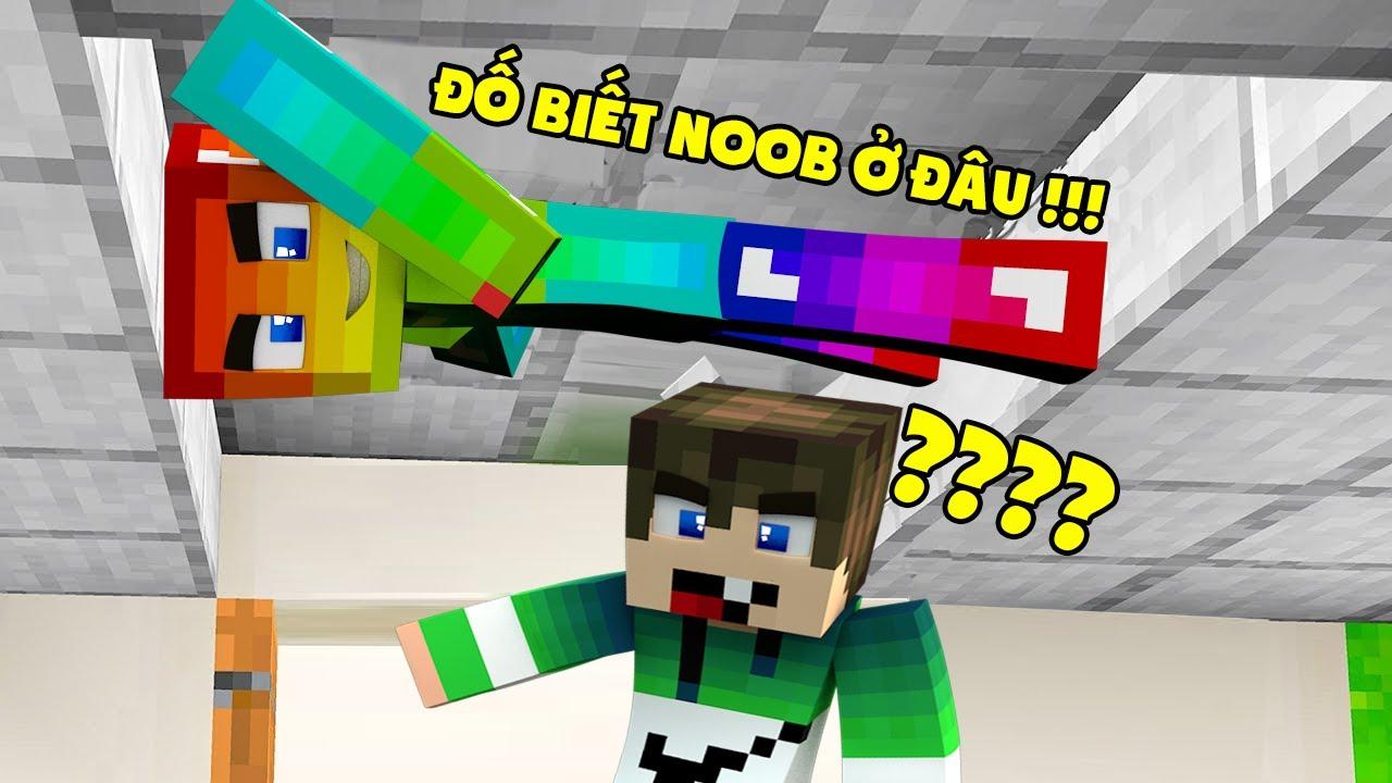 MINI GAME : TRÒ CHƠI TRỐN TÌM ** NOOB HÓA THÂN THÀNH BLOCK MINECRAFT KHIẾN ZENO KHÓ TÌM THẤY ??