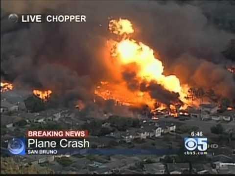 San Bruno Explosion, September 9, 2010, 6:38PM