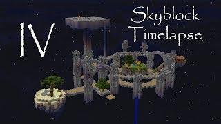 skyblock timelapse IV (Skyblock 8000)