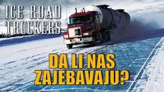 Kamion King - Ice Road Truckers - laž ili istina?