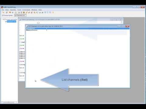 How to setup a secret IRC channel